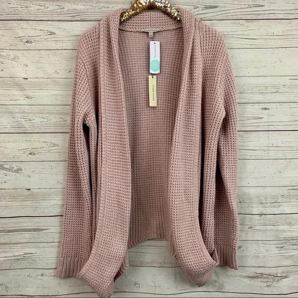 6960c900213 41 Hawthorn Stitch Fix chunky blush cardigan pink